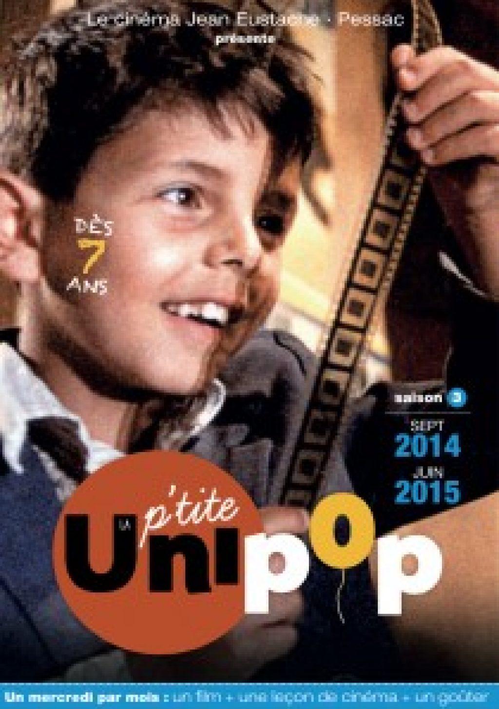 Unipop P'tite Unipop 2014-2015